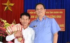 Viện KSND Khánh Hòa bồi thường cho người bị giam oan 39 năm trước