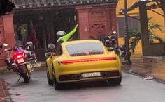 Truy tìm đoàn 'siêu xe' đi đường cấm vào thẳng chùa Cầu Hội An