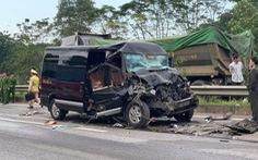 Vụ xe Limousine đâm xe đầu kéo trên cao tốc: một người đã tử vong