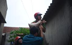 Bình Định: Tất cả tàu thuyền đã an toàn, đang sơ tán dân khỏi vùng nguy hiểm