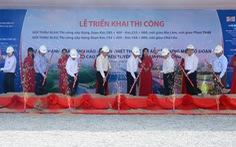 Đồng loạt thi công các gói thầu dự án cao tốc Vĩnh Hảo - Phan Thiết