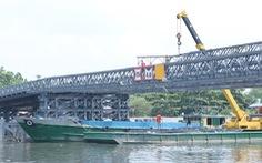 Chủ sà lan đụng cầu An Phú Đông bị đề nghị bồi thường dưới 1 tỉ đồng