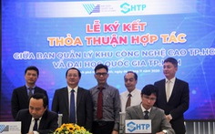 ĐH Quốc gia TP.HCM hợp tác Khu công nghệ cao xây khu đô thị sáng tạo