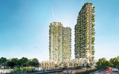 Thiết kế tháp biểu tượng Ecopark