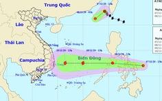 Bão số 11 vừa suy yếu, Biển Đông lại đón áp thấp có thể thành bão số 12