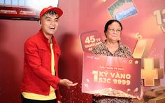 Khách hàng trúng 1kg vàng từ Mega1: 'Sẽ trích một phần may mắn cho bà con miền Trung'