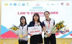 Ấn tượng từ cuộc thi mới toanh dành cho 'thần dân' khoa Luật