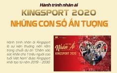 Hành trình nhân ái Kingsport 2020 - Những con số ấn tượng