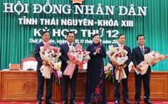 Thái Nguyên: tân chủ tịch HĐND, UBND tỉnh đều thuộc thế hệ 7x