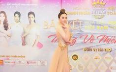 Hoa hậu Hoàng Thị Thảo Nguyên ngồi ghế nóng bán kết cuộc thi sắc đẹp