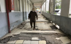 Bệnh viện tâm thần xuống cấp nghiêm trọng sắp được sửa chữa