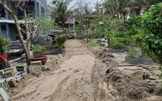 Lúng túng giải tỏa bãi biển An Bàng