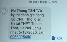 Công ty VN HiTech vẫn gắn mác trường ĐH TP.HCM chiêu sinh 'chui' ở phía Bắc