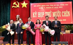 Ông Nguyễn Công Vinh được bầu làm Phó chủ tịch UBND tỉnh Bà Rịa - Vũng Tàu