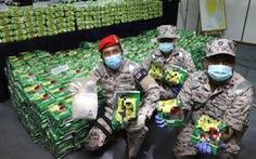 Bắt giữ 2 tấn ma túy đá giấu trong các gói trà Trung Quốc