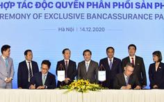 Lễ ký kết hợp đồng phân phối bảo hiểm giữa VietinBank và ManuLife Việt Nam