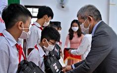 Doanh nghiệp Nhật chia sẻ khó khăn cùng học sinh Đồng Nai
