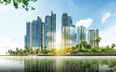 Khu Nam TP.HCM xuất hiện ốc đảo xanh với quy mô 9 tòa tháp