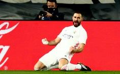 Benzema lập cú đúp, Real Madrid khuất phục 10 người Athletic Bilbao
