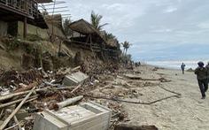 Vì sao bờ biển Hội An bị sạt lở ngày càng nghiêm trọng hơn?