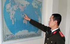 Thu giữ bản đồ 'đường lưỡi bò' treo trong công ty Trung Quốc ở Hải Dương