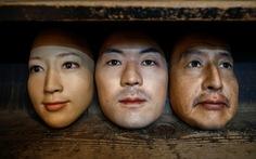 Mặt nạ người 3D thật đến rợn người giá 950 USD ở Nhật