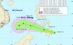 Biển Đông có thể bão trong 2-3 ngày tới