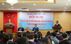 ĐH Quốc gia Hà Nội sẽ tổ chức kỳ thi đánh giá năng lực cho học sinh THPT