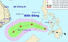 Áp thấp nhiệt đới áp sát Biển Đông, có thể gây gió giật cấp 11 khi thành bão
