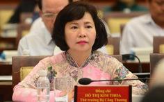 Khai trừ khỏi Đảng cựu thứ trưởng Bộ Công thương Hồ Thị Kim Thoa