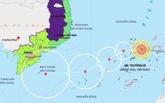 Áp thấp nhiệt đới cách Song Tử Tây 170km, dự báo thành bão trong hôm nay