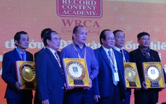 Nguyễn Văn Chung xác lập kỷ lục Việt Nam, Thế Hiển được tặng biểu tượng Hoa tre