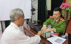 Công an Hà Nội lập các tổ lưu động đi cấp căn cước công dân