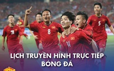Lịch trực tiếp bóng đá 23-12: U22 Việt Nam - Tuyển Việt Nam, Everton - Man United