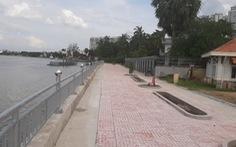TP.HCM hoàn thành 2 công trình kè chống sạt lở bờ sông