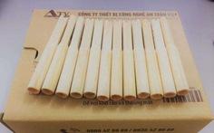 Thử nghiệm ống thổi đo nồng độ cồn làm từ bột gỗ, bột tre thay ống thổi nhựa