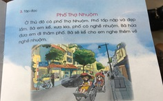 Sách giáo khoa Tiếng Việt 1 của bộ Cánh diều được điều chỉnh thế nào?