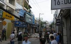 Công an xác định rò rỉ gas gây nổ căn nhà ở quận Phú Nhuận