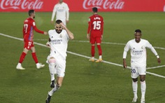 Đánh bại Granada, Real Madrid tiếp tục bằng điểm Atletico Madrid