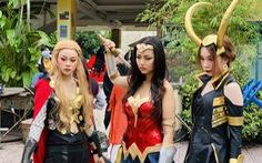Thi cosplay: Siêu anh hùng bước ra đời thực