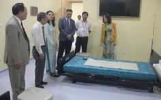 ĐH Duy Tân nhận phòng thực hành kỹ năng điều dưỡng đối tác Nhật tài trợ