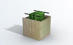 Nhật Bản phát triển vệ tinh làm bằng gỗ để tránh xả rác vào không gian