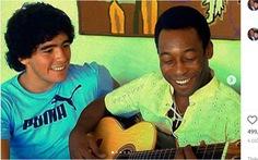 Pele viết tâm thư 'đẫm nước mắt' tưởng nhớ Maradona