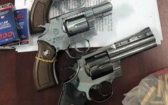 Đem 4 khẩu súng, 164 viên đạn chì đi 'giải quyết mâu thuẫn'