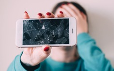 Màn hình điện thoại tự lành sau khi bị nứt