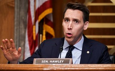 Thượng nghị sĩ Josh Hawley phản đối kết quả bầu cử, 100 nghị sĩ Cộng hòa nghe theo?