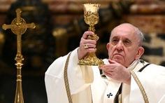 Giáo hoàng Francis không thể chủ trì lễ đêm giao thừa và đầu năm mới 2021