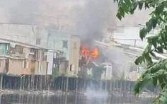 Hỏa hoạn thiêu rụi bốn căn nhà ở quận 8 ngày cuối năm