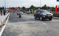 Thông xe cầu Quang Trung, giải tỏa ùn tắc khu trung tâm Cần Thơ
