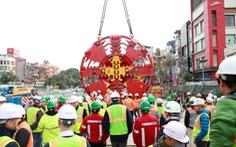 Lắp khiên đào, hoàn thiện robot đào hầm đường metro Nhổn - ga Hà Nội